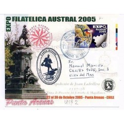 E) 2005 CHILE, SOUTHERN PHILATELIC EXPO, PUNTA ARENAS EDITION, FDC