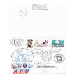 E) 2009 CHILE, CHILEAN ANTARCTIC EXPO, 50 YEARS OF ANTARCTIC TREATY, FDC