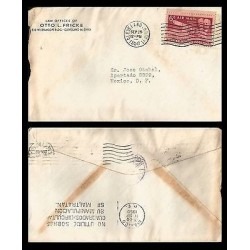 E)1950 UNITED STATES, WILBUR AND ORVILLE WRIGHT, AIR MAIL, AMERICAN AVIATION