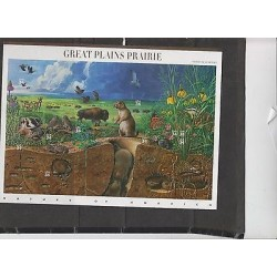 O) 2001 UNITED STATES, INSECTS, DEER, REPTILE, BIRD, GREAT PLAINS PRAIRIE, SOUVE
