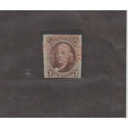 O) 1847 UNITED STATES - USA, INVENTOR SCIENTIFIC PRESIDENT BENJAMIN FRANKLIN - 5
