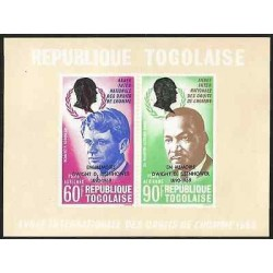 B) 1968 TOGO, POLITICS, MILITARY, PRESIDENT OF THE UNITED STATES