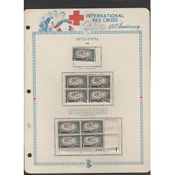 O) 1963 UNITED STATES, INTERNATIONAL RED CROSS, PRISONER-100 TH ANNIVERSAR