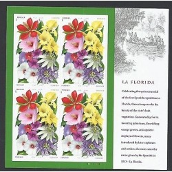 O) 2013 UNITED STATES - USA, QUINCENTENNIAL OF THE FIRST SPANISH EXPEDITION, FLO