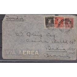 E) 1935 ARGENTINA, AIR MAIL, GENERAL JOSÉ DE SAN MARTIN, CONDOR, FDC