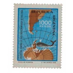E) 1981 ARGENTINA, CAMPAIGN AGAINST INDISCRIMINATE WHALING, MNH