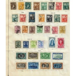 G)1892-1910 ARGENTINA, NICE LOT OF 36 CLASSIC FROM 1892 TO 1910, SOME CANCELLED
