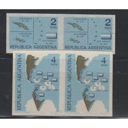 O) 1964 ARGENTINA, IMPERFORATED, FALKLAND ISLANDS, ARCHIPELAGOS - CONTINENTAL PL