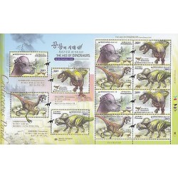 G)2012 KOREA, THE AGE OF DINOSAURS 3RD, PHACHYCEPHALOSAURUS-TYRANNOSAURUS-OVIRAP