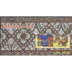 E)2012 SRI LANKA, CHRITSMAS, RELIGION, NATALE, MNH