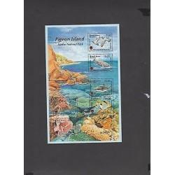 O) 2014 SRI LANKA, MARINE NATIONAL PARK, PIGEON ISLAND, FISH, MARINE LIFE, MNH