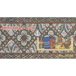 o) 2012 SRI LANKA, CHRISTMAS, SOUVENIR MNH