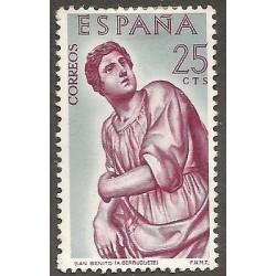 E)1962 SPAIN, ST. BENEDICT, PAINTING, MINT