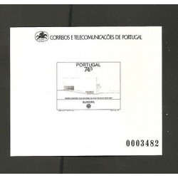 O) 1987 PORTUGAL, PROOF -BANK BORGES AND IRMAO AGENCI-ARQ. ALVARO SIZA, XF
