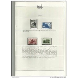 O) 1952 HUNGARY, LOCOMOTIVE, RAILWAY, TRAIN, SET MNH