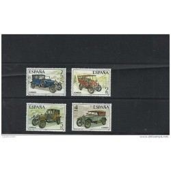 O) 1977 SPAIN, OLD CARS FROM 1900 TO 1916, SET MNH