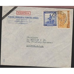 O) 1974 CONGO, RANGER FORESTRY AGENT, PANTHERA PARDUS, COVER TO LONDON - ENGLAND
