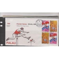 O) 1996 PALAU,OLYMPIC GAMES ATLANTA USA 1996, BOB MATHIAS, FANNY BLANKERS - MEDA