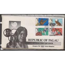 O) 1988 PALAU, OLIMPYC GAMES 1988, FDC XF