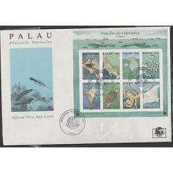 O) 1994 PALAU, ANIMAL DIVERSITY, FDC XF