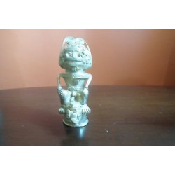 O) COLOMBIA, CHIEFTAIN, TUMBAGA DETAILS ABOUT COPPER AND GOLD ALLOY, COLUMBIAN F