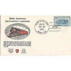 E)1952 USA, GOLDEN ANNIVERSARY, BRODWAY LIMITED, TRAIN, RAILWAY, THE BALTIMORE