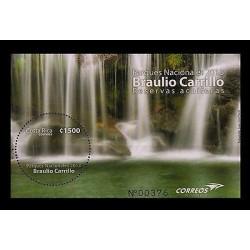 E)2013 COSTA RICA,BRAULIO CARRILLO, NATURAL PARK, WATER RESERVE, SOUVENIR SHEET