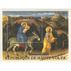 E)1972 ALTO VOLTA, THE FLIGHT INTO EGYPT- KIND FABRIANO, CHRISTMAS
