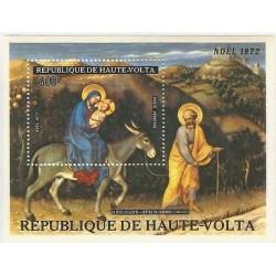E)1972 ALTO VOLTA, THE FLIGHT INTO EGYPT- KIND FABRIANO, CHRISTMAS