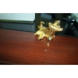 O) COLOMBIA, DOG, TUMBAGA DETAILS ABOUT COPPER AND GOLD ALLOY