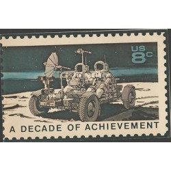 O) 1971 UNITED STATES, FIRST DECADE OF SPACE FLIGHT, ORBIT OF APOLLO 15-1968, SP