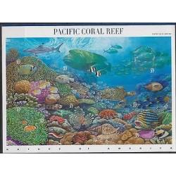 O) 2004 UNITED STATES, MARINE BIODIVERSITY, CORALS, FISHES. SOUVENIR MNH