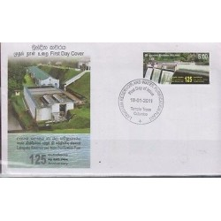RO)2011 SRI LANKA, DAM - LABUGAMA RESERVOIR AND WATER PURIFICATION PLANT,
