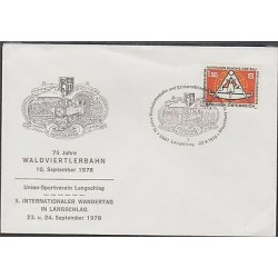 O) 1978 AUSTRIA, NATIONAL FEDERATION OF BUILDING AND WOOD WORKERS, FDC XF