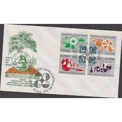 O) 1983 PHILIPPINES, NATIONAL SCIENCE AND TECHNOLOGY AUTHORITY, FDC XF