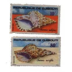 E) 1978 DJIBOUTI, SNAILS, SEASHELL