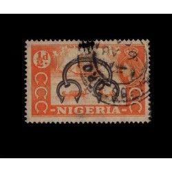 E) 1960 NIGERIA, BRITISH SHIP USED