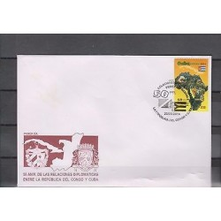 O) 2014 CARIBE, MAP, FLAG, 50TH ANNIVERSARY OF THE ESTABLISHMENT OF DIPLOM