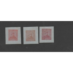 O) 1890 EL SALVADOR, POSTAL STATIONARIES CUT TO SHAPE, TONE