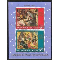 E)1968 TOGO,CHRISTMAS TYPE, ADORATION OF THE MAGI, BY PIETER BRUEGHEL- ADORATION