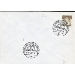 E)1967 GERMANY, KIEL WEEK, STETTIN POMMERN, MARCOPHILIA
