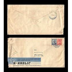 E)1979 CZECHOSLOVAKIA, STEFANIK-BENES-MASARYK, MILITARY, RARE DESTINATION, CIRCU