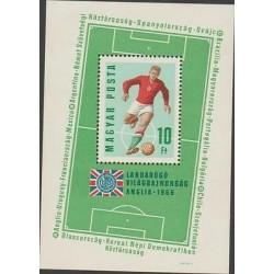 O) 1966 HUNGARY, EUROPEAN FOOTBALL CHAMPIONSHIP ENGLAND - ANGLIA 1966, SOUVENIR