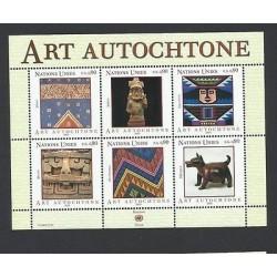 O) 2003 UNITED NATIONS - GENEVA, NATIVE ART ABORIGINAL ART CULTURE CRAFTS