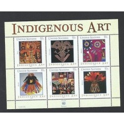 O) 2003 UNITED NATIONS, NEW YORK, JOIN ISSUE GENEVA AND VIENNA, NATIVE ART ABORI