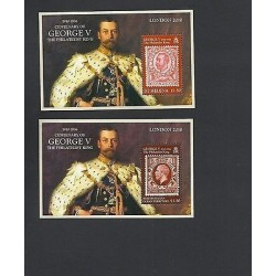 RO) 2010 GREAT BRETAIN - LONDON, KING GEORGE V - THE PHILATELIST, STAMP BRITISH I