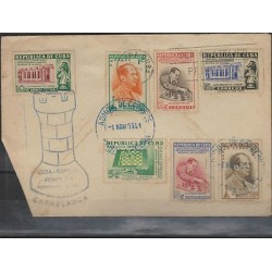 O) 1951 CARIBE, CHESS,JOSE RAUL CAPABLANCA, CLUB, XF