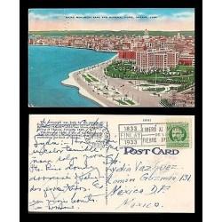 E)1933 CARIBBEAN, MARTI STAMP, BLACK BOX YELLOW FEBER, MAINE MONUMENT PARK