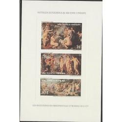 O) 1976 SAO TOME AND PRINCIPE, PROOF, PAINTIN RUBENS - 400 ANNIVERSARY 1577 - 16
