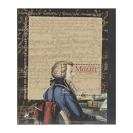 O) 2006 PORTUGAL, COMPOSER AND PIANIST CLASSICAL STYLE WOLFGAN AMADEUS MOZART, S